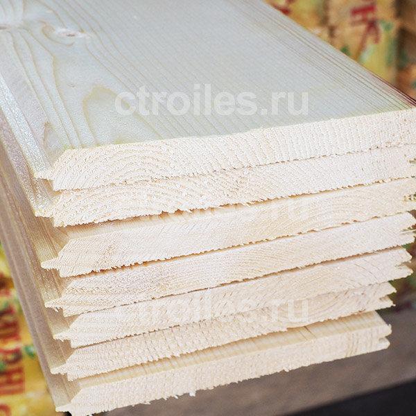 Имитация бруса сосна/ель 140 x 15 мм