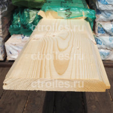 Имитация бруса сосна/ель 185 x 27 мм