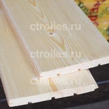 Вагонка штиль сосна/ель 140 х 15 мм